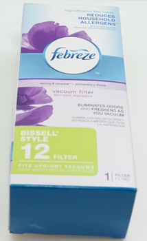 Bissell Febreze Style 12 Filter for Upright Vacuums, NOT Washable, 17T61