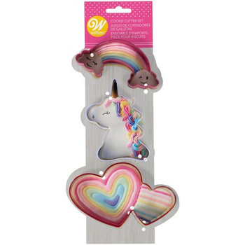 Wilton Valentines Day Magical Cookie Cutter Set, 2308-0-0061