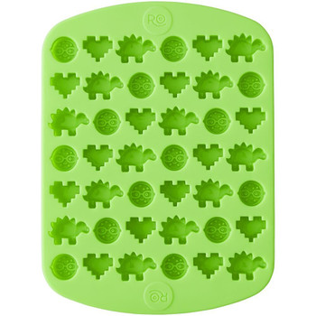 """Wilton 42 Cavity """"Nerdy Nummies"""" Silicone Candy Mold, 2115-4371"""