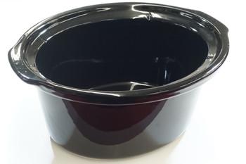 4 Qt Black Stoneware fits Crock-Pot SCCPVP400 Slow Cooker, 162649-000-000