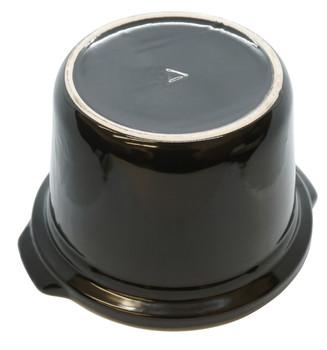 4 Qt Black Round Stoneware for Crock-Pot Slow Cooker, 129995-000-000