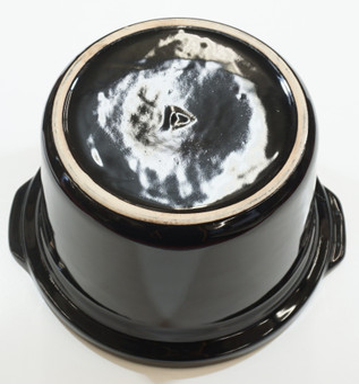 4 Qt Black Round Stoneware fits Crock-Pot Slow Cooker, 129995-000-000