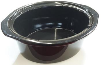 6 Qt Black Stoneware fits Crock-Pot Lift & Serve Slow Cooker, 183602-000-000