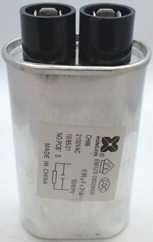 Microwave High Voltage Capacitor, 2100 vac, .95 mfd uf, 13QBP21095