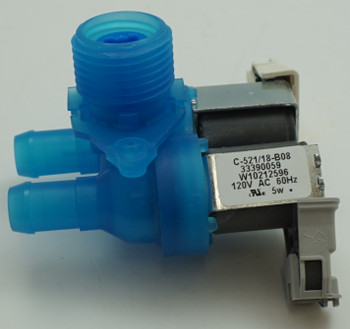 Supco Washing Machine Water Valve for Whirlpool, Sears, W10212596, WV2596