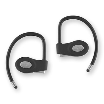 Sentry Pro Series Bluetooth Silver/Black Earbuds, Rechargable, BT999SI