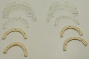 Bissell Brush Chamber Felt Inserts for Pet Hair Eraser Lift-Off Vacuum, 1612644