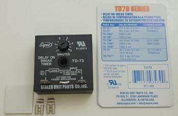 Time Delay Break, Supco Compressor Protector TD73