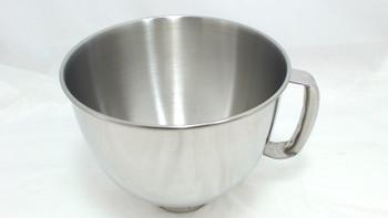 Mixer 5QT S.S. Bowl w/handle for KitchenAid, K5THSBP, W10245282, WPW10676080
