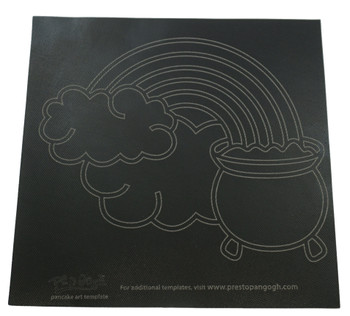 Presto Rainbow/Heart Template for PanGogh Pancake Art Griddle, 81588