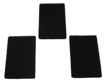 Presto Charcoal Filter (3 Pack) for Deep Fryers, 09988