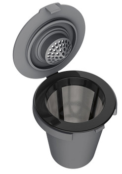 Cuisinart HomeBarista Reusable Filter Cup for Single-Serve Brewers, SS-RFC-1
