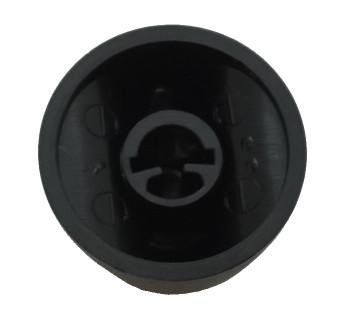 Range Hood Black Knob for Broan, AP5617096, S600348