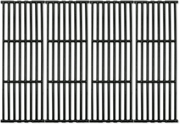 Gas Grill Glossy Finish Porcelain Coated Cast Iron Cooking Grid set (4 pc) 66024