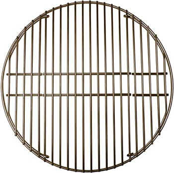 """Gas Grill 18-3/16"""" Stainless Steel Round Cooking Grid for Big Green Egg, 5S991"""