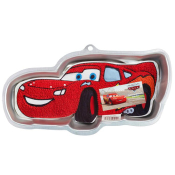 Wilton Cars Lightning McQueen Cake Pan, 2105-6400