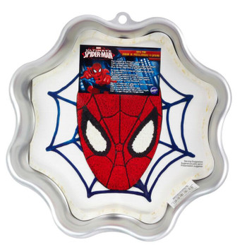 Wilton Ultimate Spiderman Cake Pan, 2105-5072