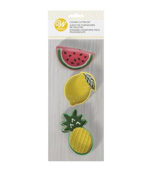 Wilton 3 Piece Tropical Cookie Cutter Set, 2308-3460