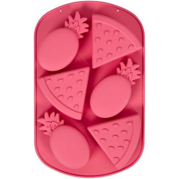 Wilton Silicone Melon, 6 Cavity Candy Mold, 2105-0-0416