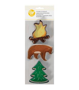 Wilton 3 Pc Wilderness Cookie Cutter Set, 2308-0-0108