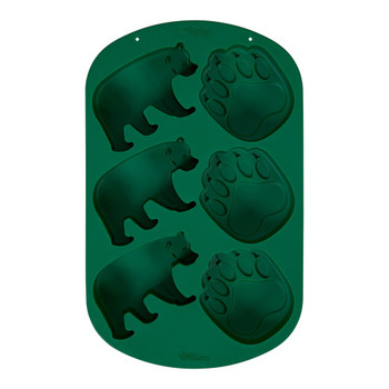 Wilton Silicone Wilderness, 6 Cavity Candy Mold, 2105-0-0415