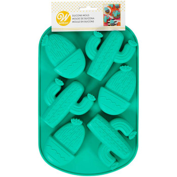 Wilton Silicone Desert, 6 Cavity Candy Mold, 2105-0-0414