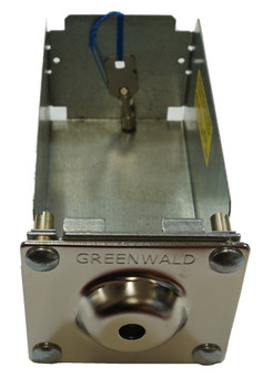 Commercial Laundry Square Face Coin Box w/ Key (GR7783) for Greenwald, 8-1275