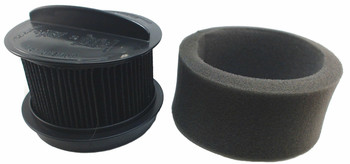 5 Pk, Bissell Vacuum Filter, Style 16, Inner & Outer 32R9