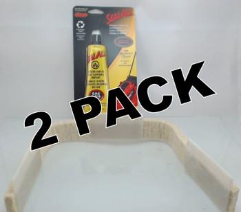 2 Pk, Dryer Front Drum Felt & Glide Kit for Frigidaire AP2150497, 5303937139