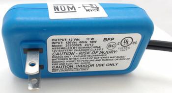Genuine OEM Peg-Perego 12-Volt Battery Charger, MECB0086U