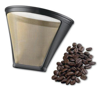 Cuisinart 4-Cup Gold Tone Permanent Coffee Filter, GTF-4