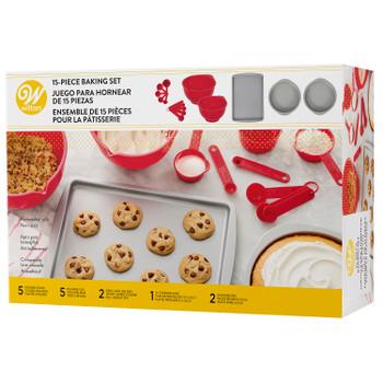 Wilton 15-Piece Baking Set, 2106-0-0147