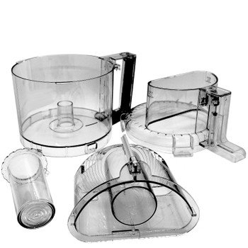 Cuisinart 4 Piece 3rd Generation Tritan Kit for DLC-2011 Series, WBA-DLC11NT1