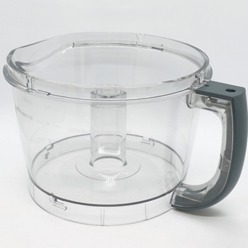 Cuisinart 12-Cup Elite Collection Food Processor Gray Work Bowl, FP-12GNWBT1