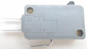 Microwave Universal Light Pressure Door Switch, 3 Wire, 15 Amp, 28QBP0493