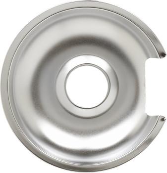 "Range Chrome 8"" Drip Pan replaces GE, Hotpoint, 8GE, WB32X10013"