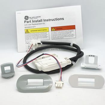 Washing Machine Lid Lock Service Kit for General Electric, AP6995570, WH08X31577
