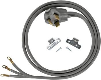 Electric Range 4' Cord, 30 AMP, 3 Wire, 125/250V, 3024