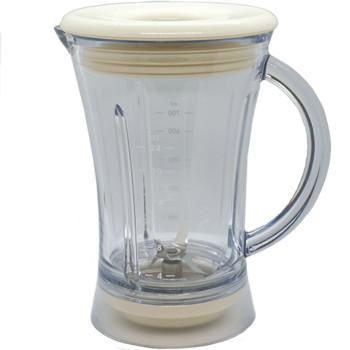24 Oz Creme Plastic Blender Jar Assembly fits Margaritaville, 129908-000-000