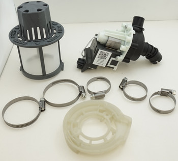 Dishwasher Drain Pump Kit for General Electric AP6993956, PS16219695, WD19X25187