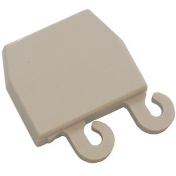 Refrigerator Door Shelf End Cap LH for Frigidaire, AP2132577, PS447390, 3206166