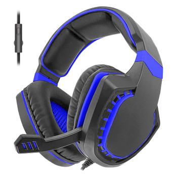 Sentry Pro Series Gaming Headset with Folding Mic, Blue, HPX-GX250B