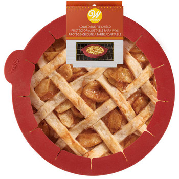 Wilton Silicone Adjustable Pie Crust Shield, 2103-4359