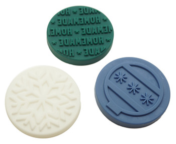 Wilton Holiday Cookie Stamp Set, 3 Stamps, 2104-0-0019