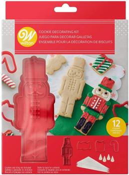 Wilton Nutcracker Cookie Stamp Kit, 12 Piece Kit, 2107-0-0205