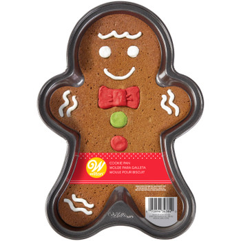 Wilton Gingerbread Boy Cake Pan, Non Stick, 2105-4384