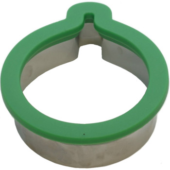 Wilton Green Ornament Comfort Grip Holiday Cookie Cutter, 2310-0-0029