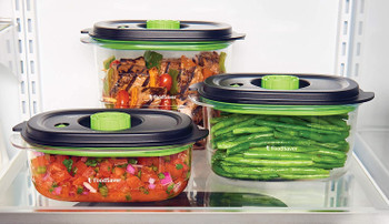 Preserve & Marinate 3 Cup, 5 Cup & 8 Cup Containers fits FoodSaver, 2116367