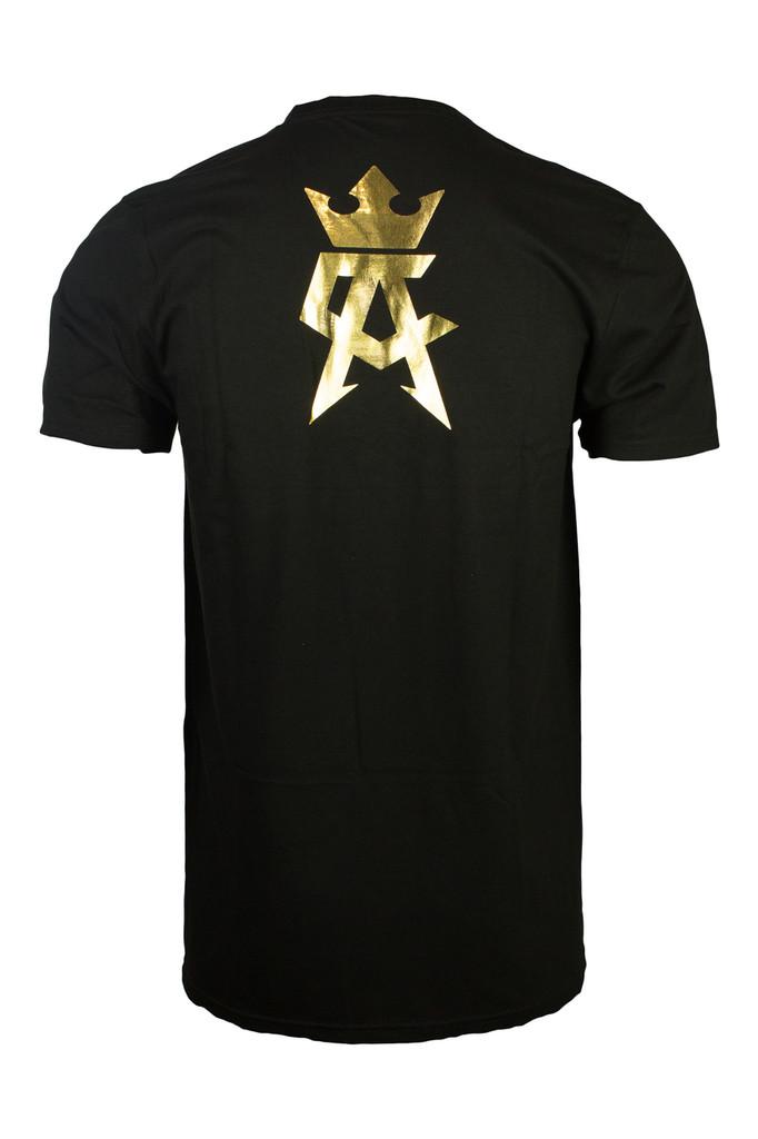 CA Crown in gold foil