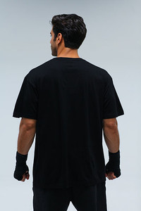 Label black Mens Tee